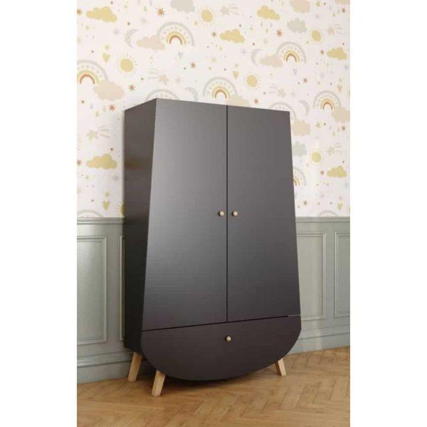 armoire 2 portes 1 tiroir trapèze (6)