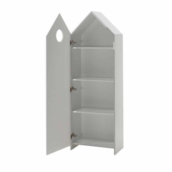 armoire en bois 1 porte casami blanc – vipack (1)