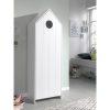 armoire en bois 1 porte casami blanc – vipack (10)