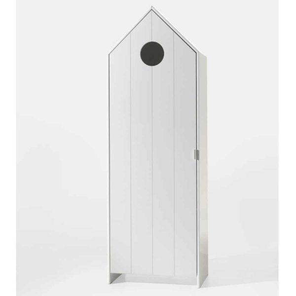 armoire en bois 1 porte casami blanc – vipack (7)