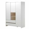 armoire en bois 3 portes kiddy blanc vipack (2)