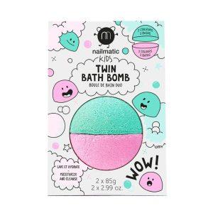 boule de bain duo rose + lagon nailmatic kids (1)
