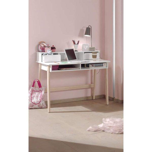 bureau enfant bois kiddy blanc vipack (4)