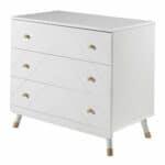 commode en bois 3 tiroirs billy blanc – micuna (1)