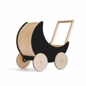 Landau de poupée en bois noir - Ooh noo