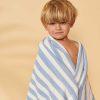 serviette de plage macy sky blue liewood (1)