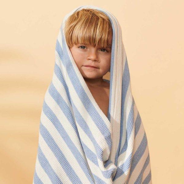 serviette de plage macy sky blue liewood (4)