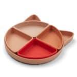 assiette à compartiments arne cat tuscany rose multimix liewood (1)