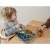 assiette à compartiments arne mr bear blue fog multimix liewood (1)