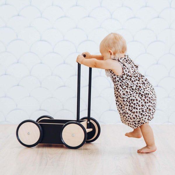 chariot de marche baby walker noir ooh noo (8)