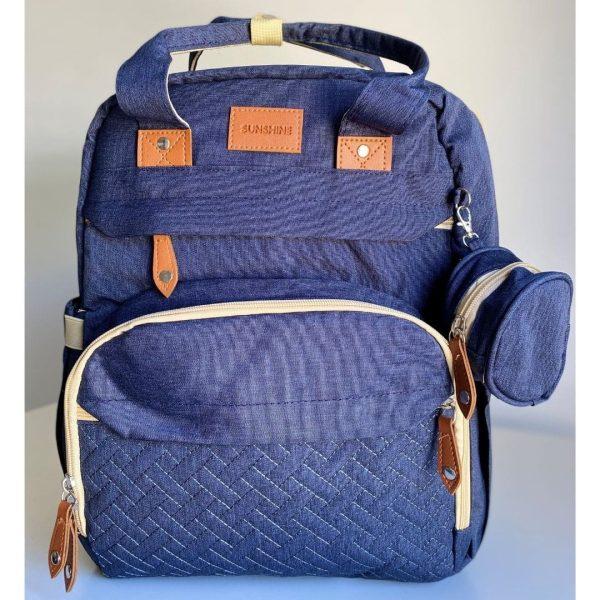 sac à langer lit bleu 2 en 1 sunshine (4)