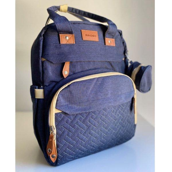 sac à langer lit bleu 2 en 1 sunshine (6)