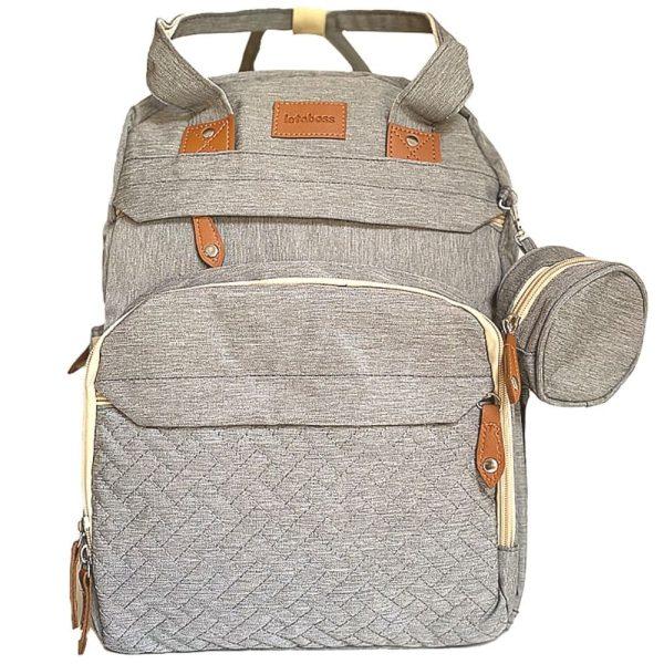 sac à langer lit gris 2 en 1 letaboss (3)
