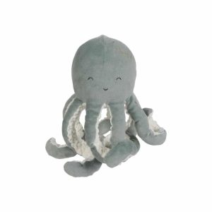 Peluche pieuvre Ocean mint - Little Dutch