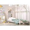 lit cabane en bois bella blanc – kocot (2)