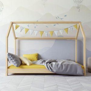 lit cabane en bois bella nature – kocot (1)