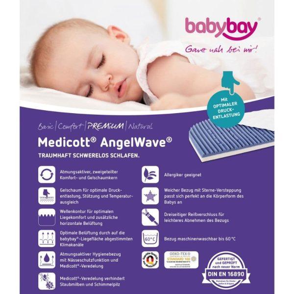 matelas medicott angelwave lit original babybay (2)