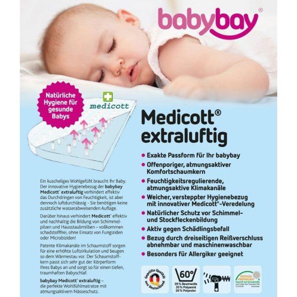matelas medicott extra aéré lit original babybay (2)