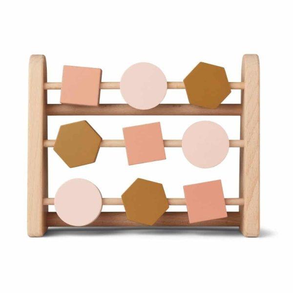 Boulier Astrid abacus Geometric rose multi mix - Liewood