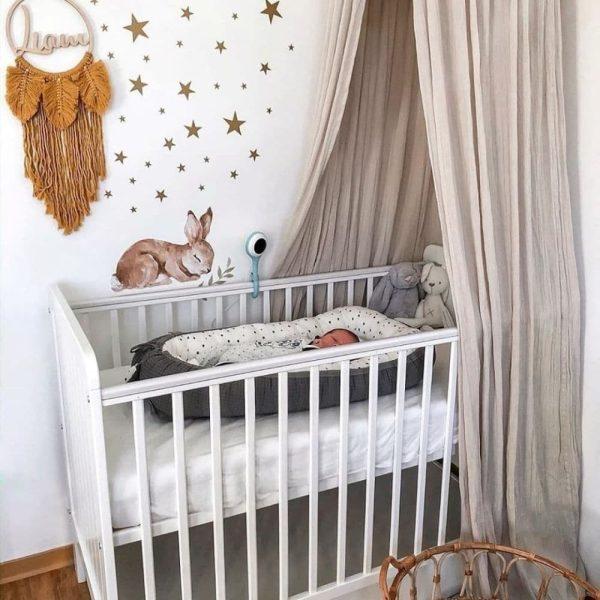 Réducteur de lit Confettis & Graphite - Tiny Star