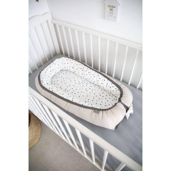 Réducteur de lit Confettis & Beige - Tiny Star