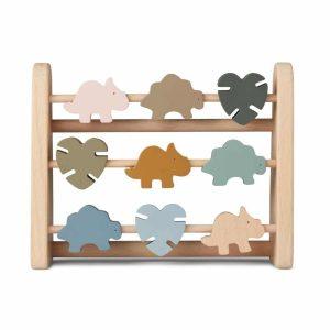 Boulier Astrid abacus Geometric Dino multi mix - Liewood