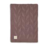 Couverture Basic knit Chesnut - Jollein
