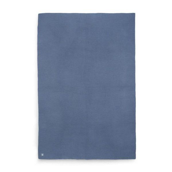 Couverture Basic knit Blue Jeans - Jollein