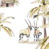 Papier peint African Safari Sunset - Creative Lab Amsterdam
