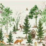 Papier peint Forest Life - Creative Lab Amsterdam