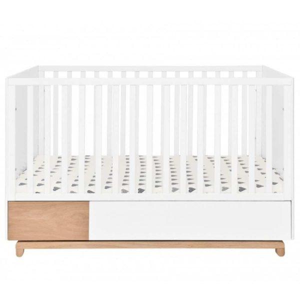 lit bébé évolutif nomi 70 x 140 cm – bellamy