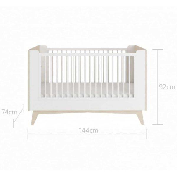 lit bébé évolutif so sixty 70 x 140 cm – bellamy (8)