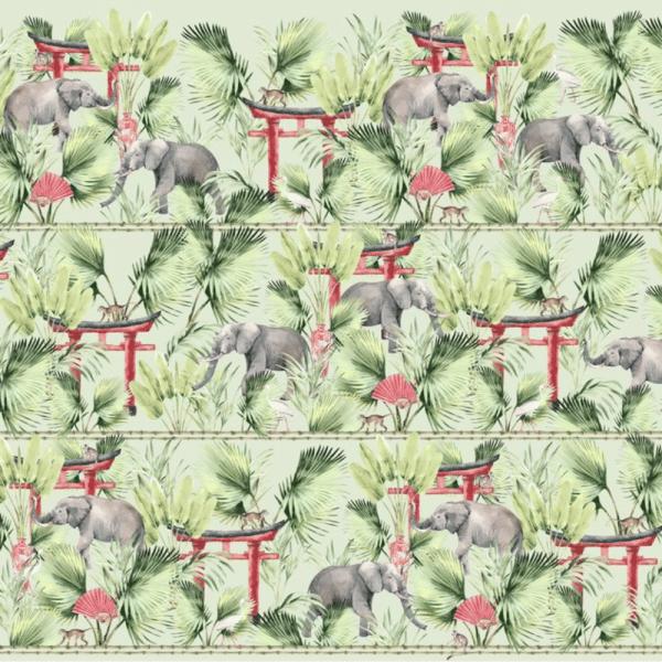 papier peint ritual elephant 1