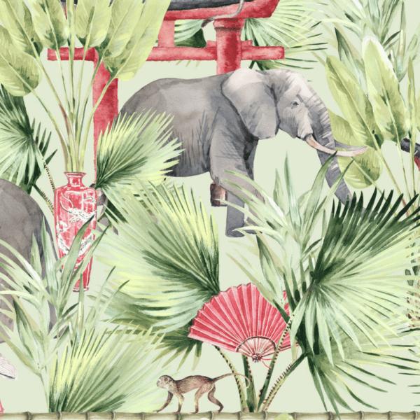 papier peint ritual elephant 4
