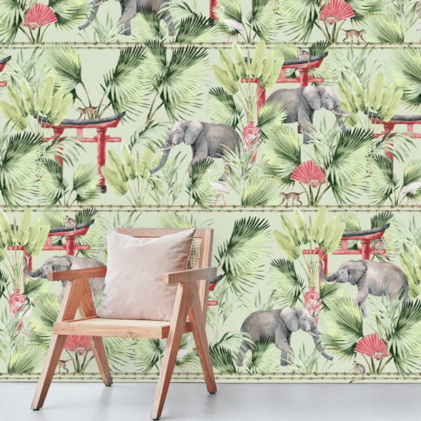 papier peint ritual elephant 5