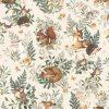 papier peint animaux de la forêt lilipinso (1)