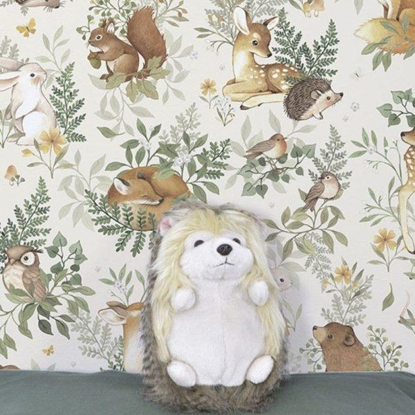 papier peint animaux de la forêt lilipinso (2)
