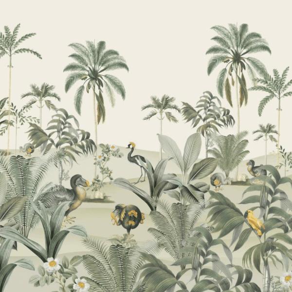 papier peint dodo oasis 1