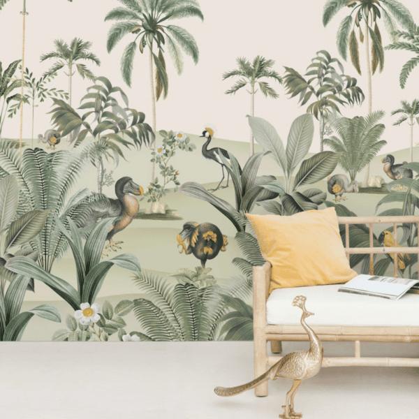 papier peint dodo oasis 2