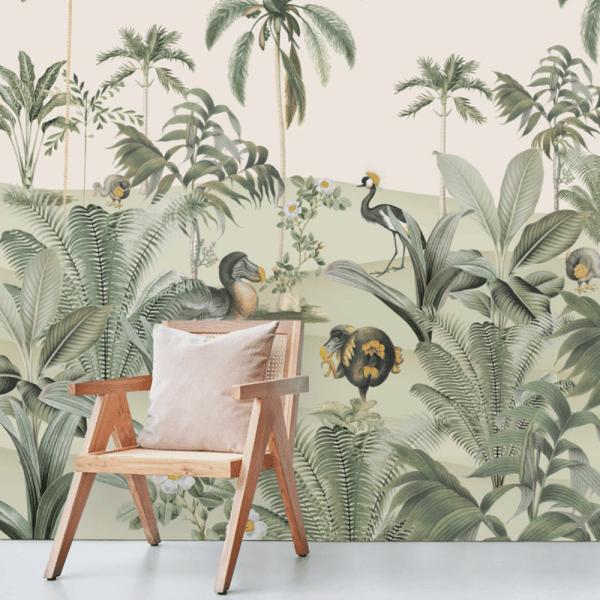 papier peint dodo oasis 3