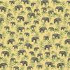 papier peint oscar the elephant yellow 1