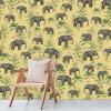 papier peint oscar the elephant yellow 3