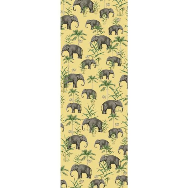 papier peint oscar the elephant yellow 6
