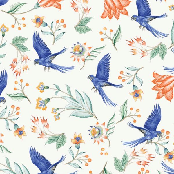 papier peint paisley parrot 4