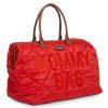 sac mommy bag matelassé rouge childhome (14)