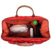 sac mommy bag matelassé rouge childhome (15)