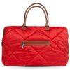 sac mommy bag matelassé rouge childhome (18)