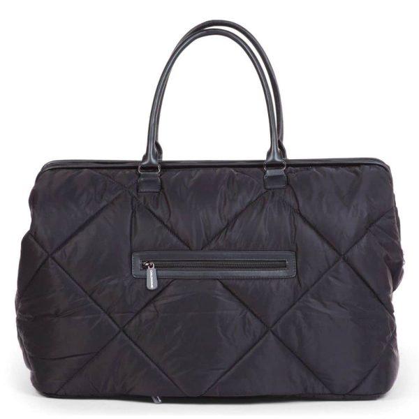 Sac Mommy Bag matelassé Noir - Childhome
