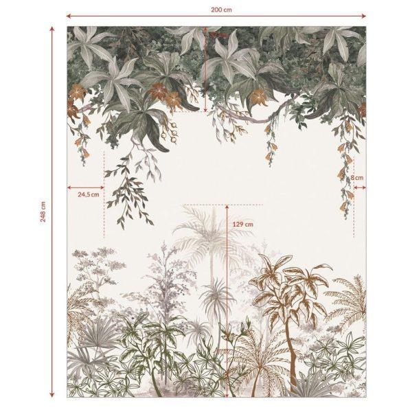 Papier peint Jungle indonésidenne - Lilipinso