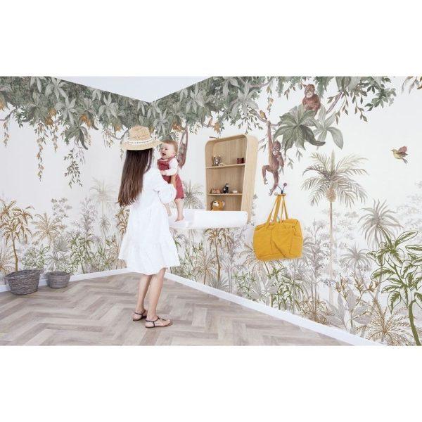 Papier peint Jungle indonésienne - Lilipinso